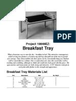 Ez Breakfast Tray