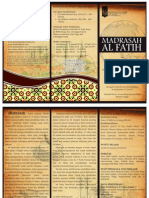 Brosur Madrasah Al-Fatih