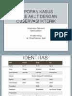 Case Diare Akut Dengan Observasi Ikterik