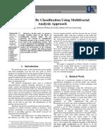 Internet Traffic Classification Using Multifractal Analysis Approach