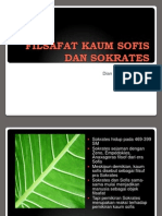 Kuliah 6 Filsafat Kaum Sofis Dan Sokrates