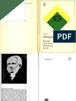"""Arthur Schopenhauer, """"Erystyka, czyli sztuka prowadzenia sporów"""""""