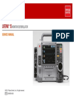 PhysioControl Lifepak 15 Defibrillator - Service Manual