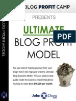 Blog-Ultimate Blog Profit - John Chow
