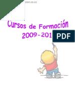 Cursos de formacion 2009 2010