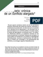 Conflictio Agrario