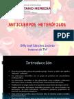 Anticuerpos heterofilos