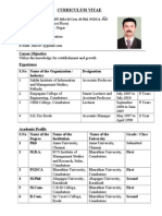 gopalakrishnan Bio data