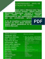 PORTUGUÊS - Tipo textual
