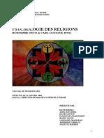 Psychologie Des Religions - R Otto & C G Jung