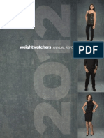Weight Watchers International 2012 Annual Report