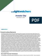 WTWInvestor Day - November 6 2013