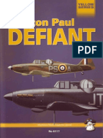 Mushroom - Yellow Series. #6117. Bolton Paul Defiant