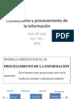 Conductismo y procesamiento de la información