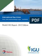IGU World LNG Report 2013