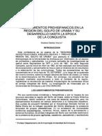 Asentamientos Prehispanicos en La Region de Uruba