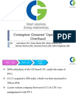 Crompton Greaves Ltd Case Study