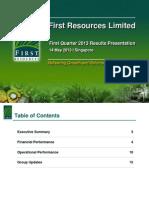 2013-5-14_FirstResources_1Q2013_ResultsPresentation