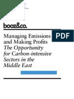 BoozCo Managing Emissions Profits MENA