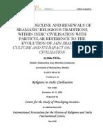 Evolution of Sramanic Jain Culture