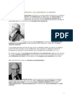 Condorcet Arrow et les systèmes de vote