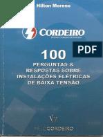 100 Peguntas e Respostas sobre Instalações Elétricas de Baixa Tensão - Hilton Moreno