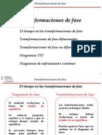 Transformaciones de Fase v2012