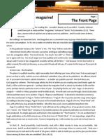 The Preacher Magazine prototype template
