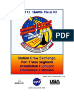 NASA Space Shuttle STS-113 Press Kit