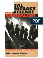Hicks - Social Democracy &Amp; Welfare Capitalism
