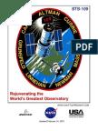 NASA Space Shuttle STS-109 Press Kit