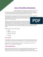 Cardiac Enzymes