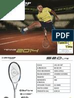 Catalogo Dunlop 2014