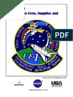 NASA Space Shuttle STS-108 Press Kit