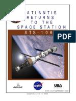 NASA Space Shuttle STS-106 Press Kit