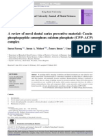 A review of novel dental caries preventive material_CPP–ACP complex