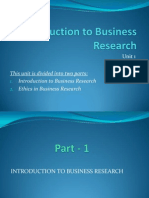 Unit 1_Into to Business Research
