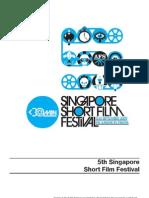 Singapore Short Film Festival Programme