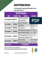 FE Fall2013Schedule