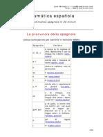 Corso accellerato di grammatica spagnola
