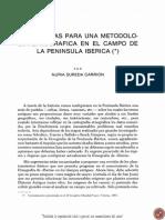 Sureda Carrión 1987 - Sugerencias metodologia etnografica PenIberica
