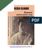 125913519 124311180 Romanul Adolescentului Miop Mircea Eliade