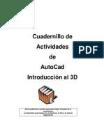 1cuadernillo de Ejercicios Autocad 3d