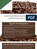 Struktur Institusional Akuntansi Keuangan