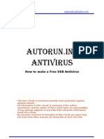 autorun.inf antivirus - how to make your free usb antivirus