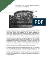 Detalle de La Fachadadel Palacio de Mshatta JORDANIA S VIII