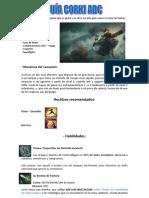 Guía corki adc