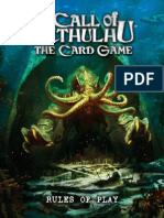 Call of Cthulhu Card Game Rules