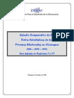 Estudio Comparativo Elecciones 1984-1990-1996 Nicaragua