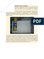 Imprimir en Papel de Arroz
